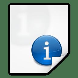 Mimetypes text x texinfo icon