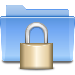 Places folder locked icon
