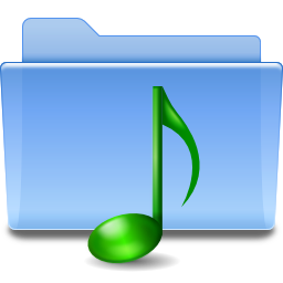Places folder sound icon