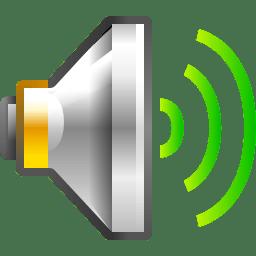 Status audio volume high icon