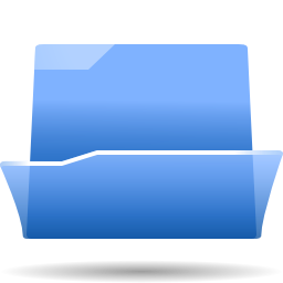 Status folder open icon