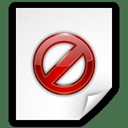 Status image missing icon