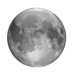 Status weather clear night icon