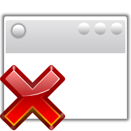 Status window suppressed icon