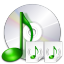 Actions tools rip audio cd icon