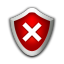 Status security low icon