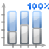 Actions-office-chart-bar-percentage icon