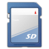Devices-media-flash-sd-mmc icon