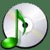 Devices-media-optical-audio icon