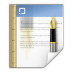 Mimetypes-application-msword-template icon
