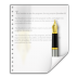 Mimetypes-application-x-abiword icon