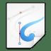 Mimetypes-image-x-xfig icon