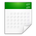 Mimetypes-text-calendar icon