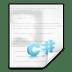 Mimetypes-text-x-csharp icon