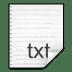 Mimetypes-text-x-nfo icon