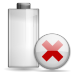 Status-battery-missing icon