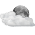 Status-weather-clouds-night icon