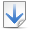 Actions-go-down-search icon