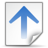 Actions-go-up-search icon