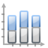 Actions-office-chart-bar-stacked icon