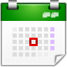 Actions-view-calendar-day icon