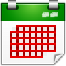 Actions-view-calendar-month icon