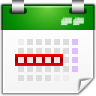 Actions-view-calendar-workweek icon
