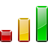 Actions-view-statistics icon