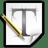Apps-fontforge icon