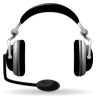 Devices-audio-headset icon