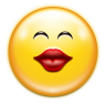 Emotes-face-kiss icon
