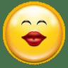 Emotes-face-kiss icon