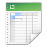 Mimetypes-application-vnd-ms-excel icon