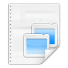 Mimetypes-application-vnd-oasis-opendocument-presentation icon