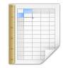 Mimetypes-application-vnd-oasis-opendocument-spreadsheet-template icon