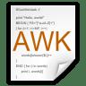 Mimetypes-application-x-awk icon