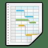 Mimetypes-application-x-kplato icon