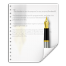 Mimetypes-application-x-kword icon