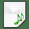Mimetypes-audio-x-generic icon
