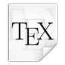 Mimetypes-text-x-bibtex icon