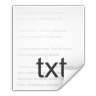 Mimetypes-text-x-changelog icon