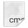 Mimetypes-text-x-cmake icon