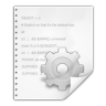 Mimetypes-text-x-makefile icon