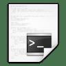 Mimetypes-text-x-script icon
