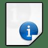 Mimetypes-text-x-texinfo icon