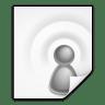 Mimetypes-x-media-podcast icon