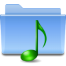 Places-folder-sound icon