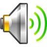 Status-audio-volume-high icon