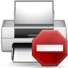 Status-printer-error icon