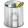 Status-user-trash-full icon